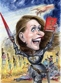 Michele Bachmann Is No Laughing Matter: Her Holy War, By Matt Taibbi