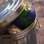 Earth In The Trash