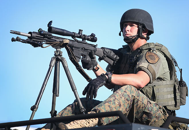 The Militarization Of US Police: Finally Dragged Into The Light By The Horrors Of Ferguson
