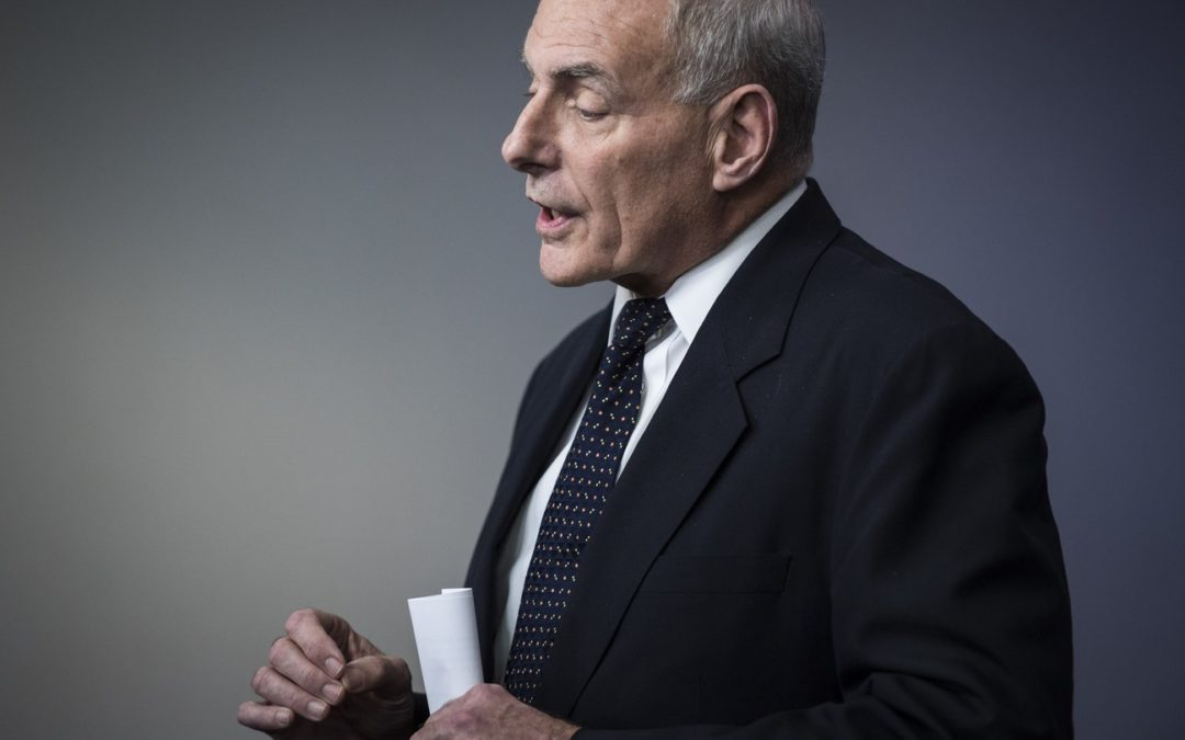 John Kelly And The Language Of The Military Coup, By Masha Gessen