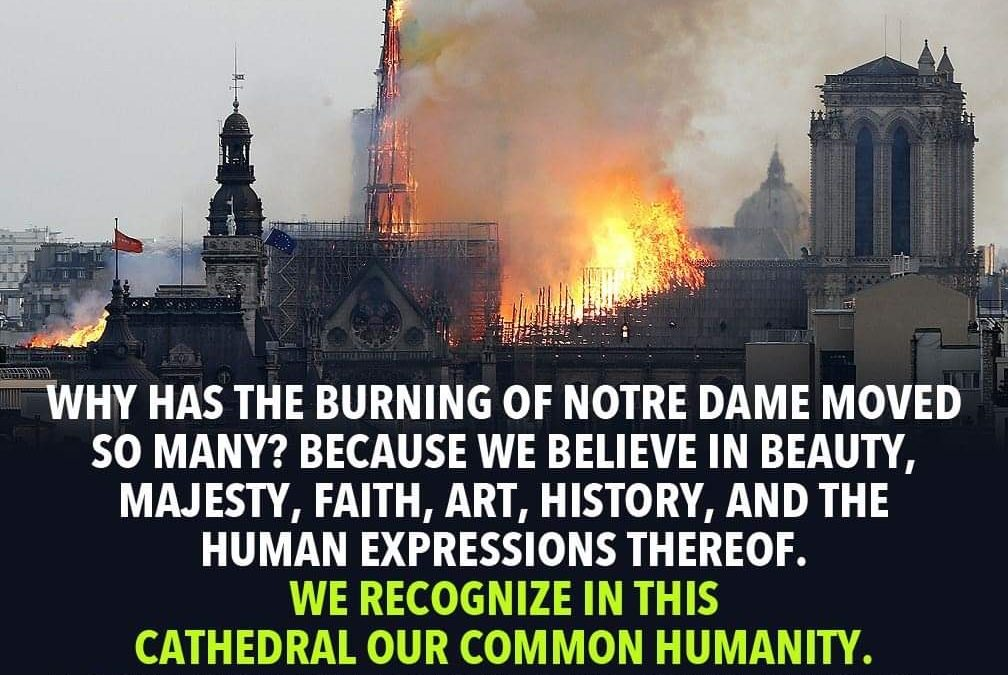 "The ""Both/And's"" Of The Notre Dame Tragedy, By Carolyn Baker"